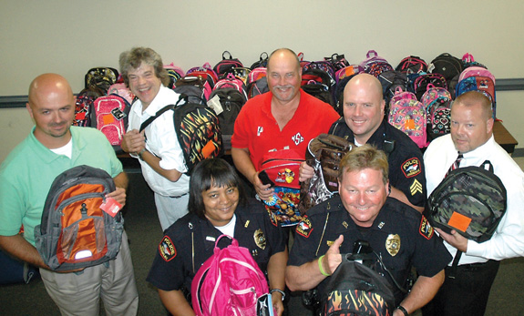 Bookbag Blitz tackles shortage of school supplies for those in need