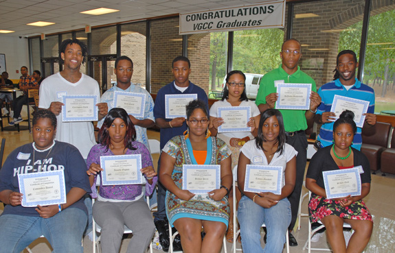 VGCC recognizes students for summer employment
