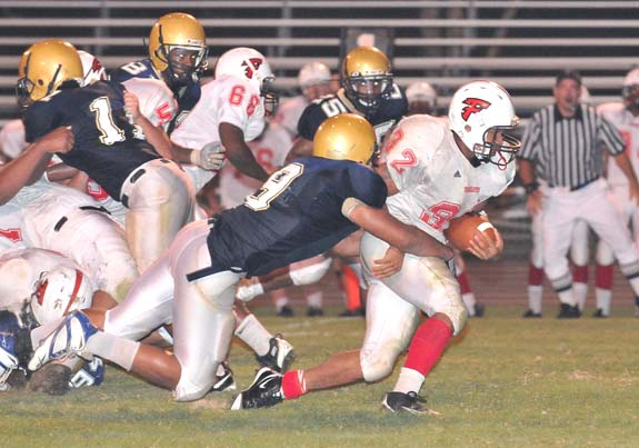 Franklinton Edges Northern Vance
