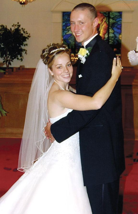 Carter, Vick wed