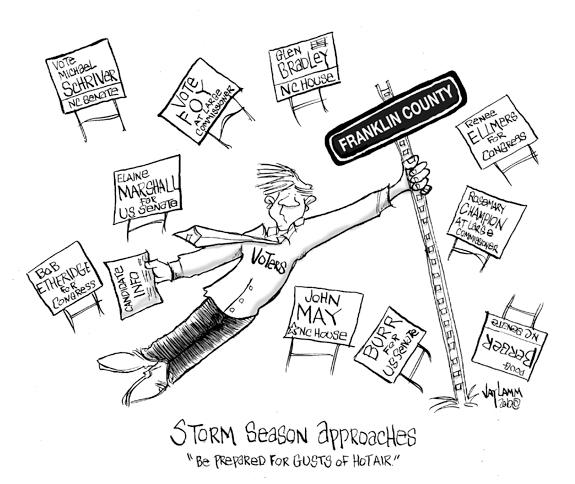 Editorial Cartoon: My Name Is Doug Earl