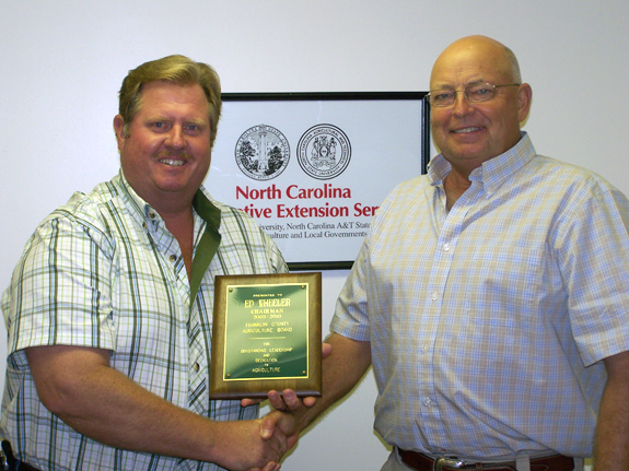 HONORARY PLAQUE