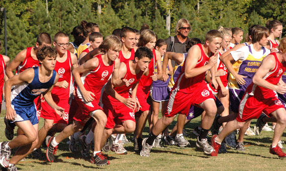NCC CROSS COUNTRY ACTION