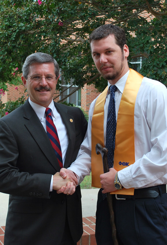 Louisburg College inducts new Phi Theta Kappa member