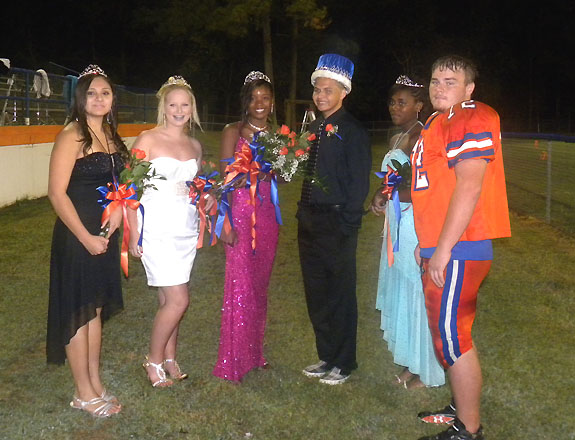 LOUISBURG HIGH SCHOOL HOMECOMING COURT