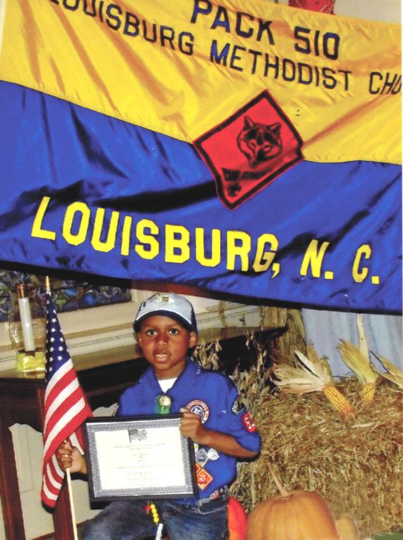 Scout's deed helps veterans