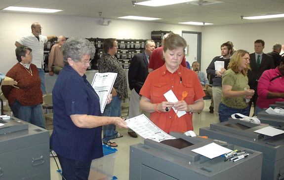 Down for the recount