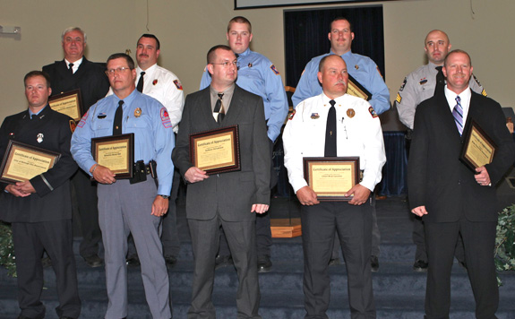 Recognition service for area law enforcement