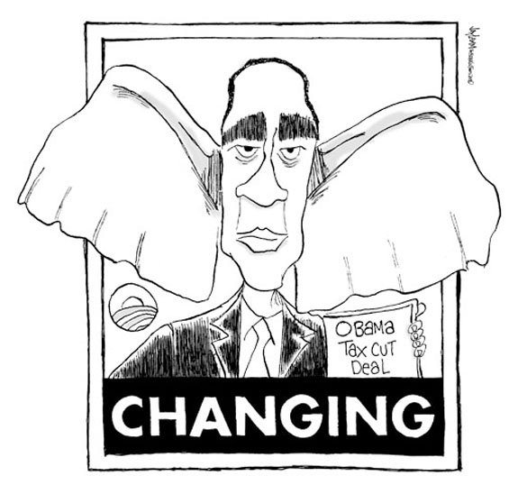 Editorial Cartoon: Barack Who? Call me Barry