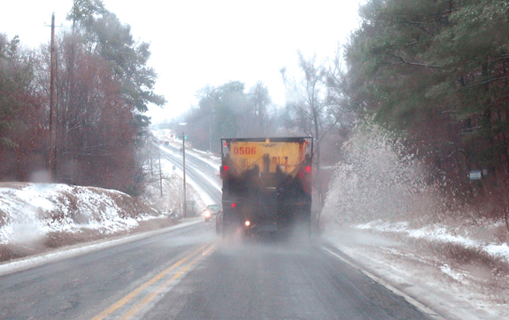 More snow predicted for county this weekend