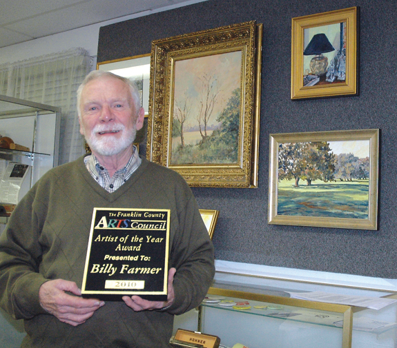 FC Arts Council names Farmer Artist of the Year