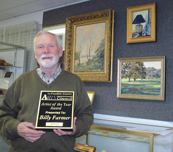 FC Arts Council names Farmer Artist of the Year