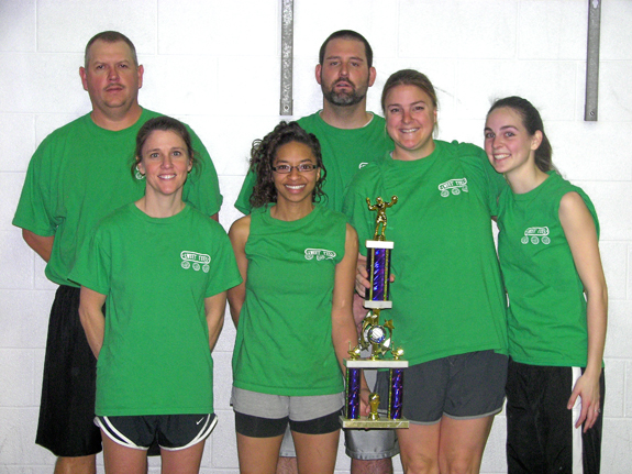 COUNTY PARKS AND REC VOLLEYBALL CHAMPIONS