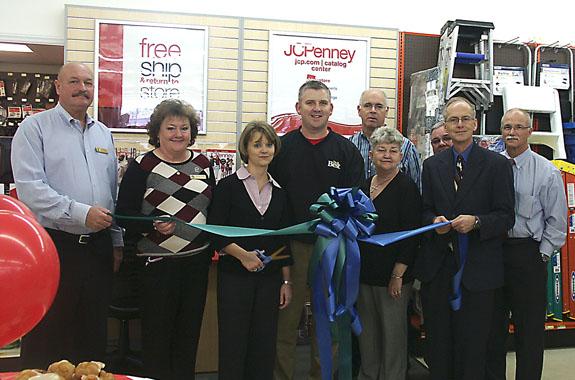 Catalog store grand opening