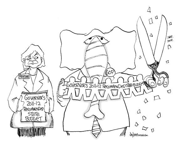Editorial Cartoon: Ignoring the Issue