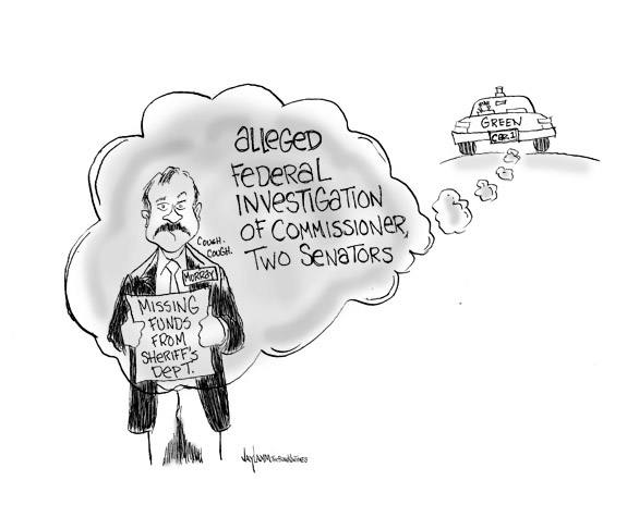 Editorial Cartoon: Smoke Screen