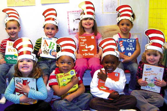 Leaps and Bounds celebrates Dr. Seuss' birthday