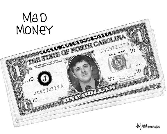 Editorial Cartoon: Bradley Tank