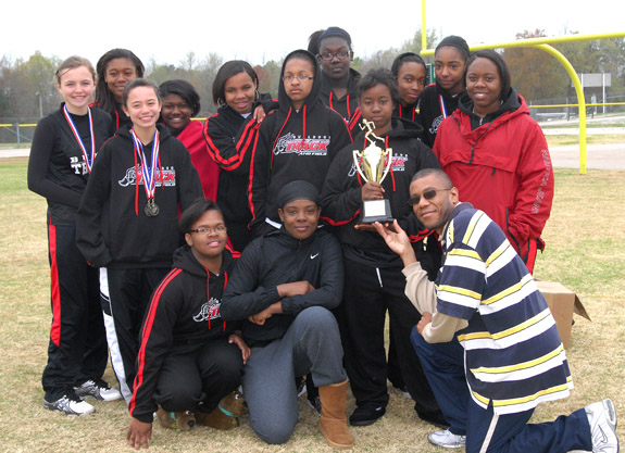FRANKLIN COUNTY TRACK & FIELD TEAM CHAMPIONS, 1