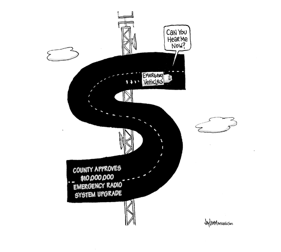 Editorial Cartoon: Rubber Duckie