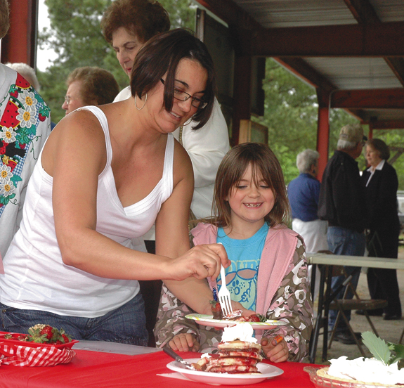Strawberry Festival is  April 29