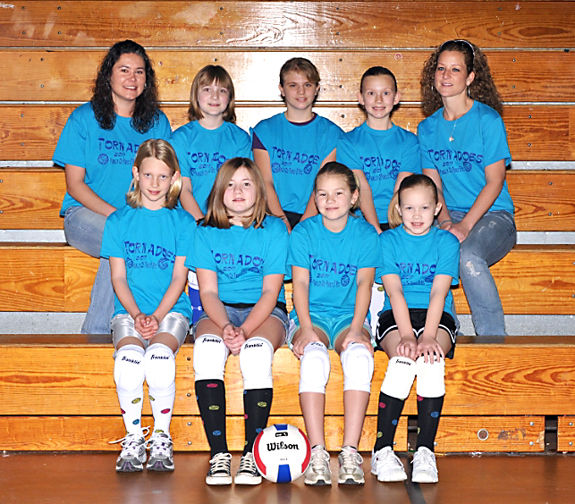 FRANKLIN CO. RECREATION DEPT. VOLLEYBALL SQUADS, 2