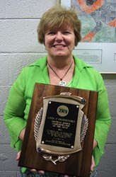 Fredrickson named NCAE Central Office Administrator of the Year