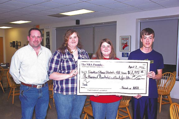 Sharpshooters receive NRA grant