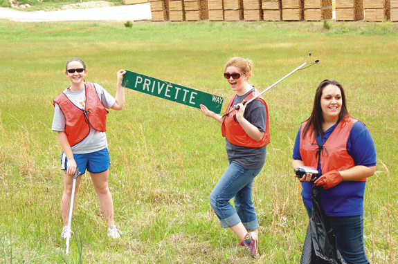 KEEPING FRANKLIN COUNTY CLEAN