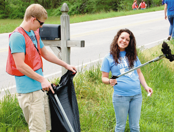 Louisburg, county win Riverkeeper Cleanup Cup