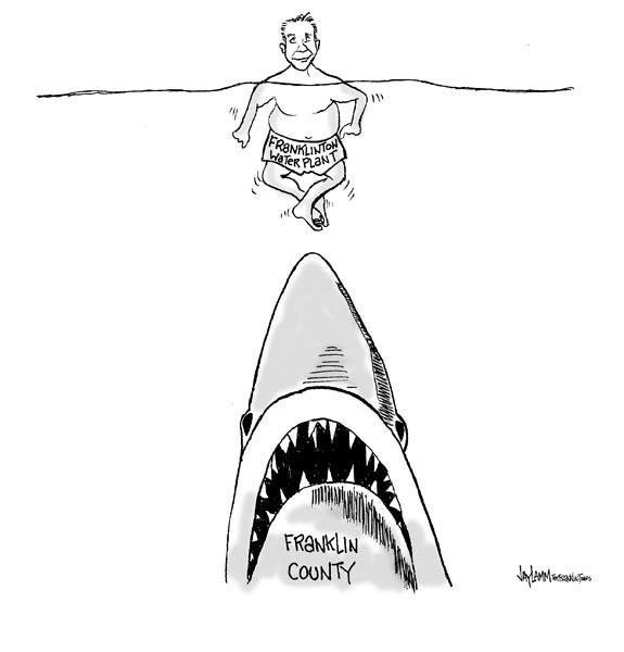 Editorial Cartoon: Feeding Frenzy