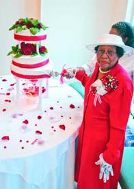 Rosanell Eaton celebrates 90th birthday