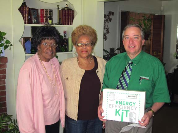 """Town of Louisburg Holds """"Day of Caring"""" to promote energy efficiency"""
