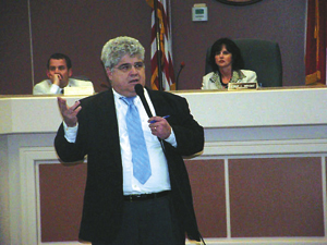 Berger holds public forum, discusses state budget