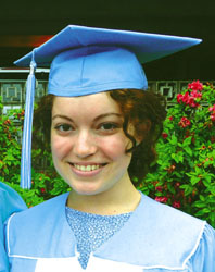 Thompson graduates from UNC-Chapel Hill