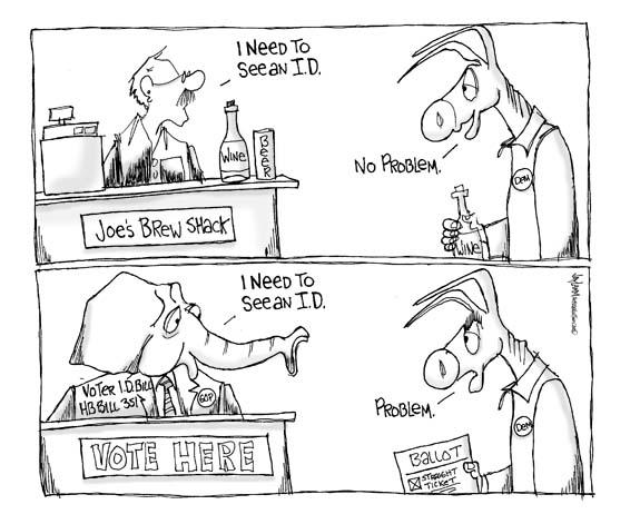Editorial Cartoon: I.D. Clare
