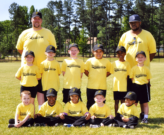 FRANKLINTON RECREATION DEPARTMENT T-BALL