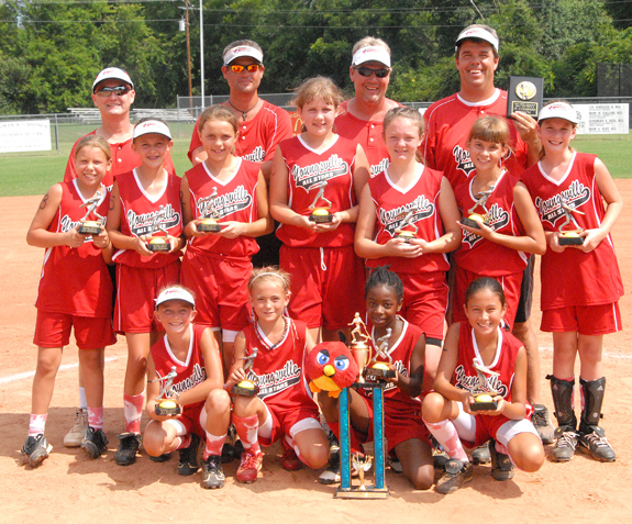 YOUNGSVILLE ALL-STARS -- 10-UNDER DISTRICT CHAMPIONS