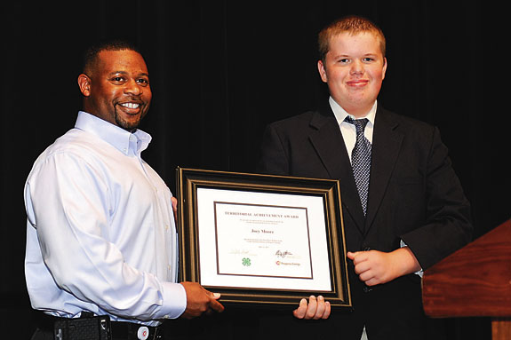 Franklin County 4-H'er wins award at State Electric Congress