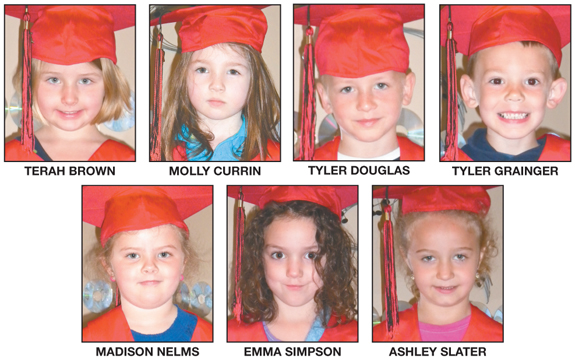 Preschool Partners graduating class of 2011