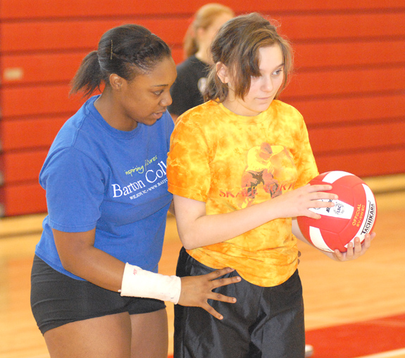 Rams Host Volleyball Camp