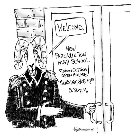 Editorial Cartoon: Ram Tough