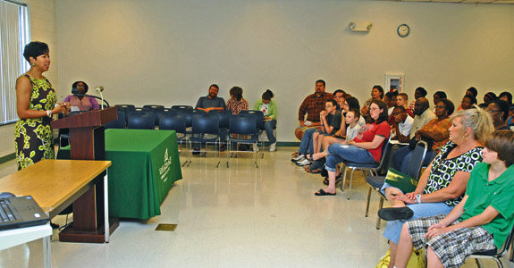 New Franklin County Early College students welcomed to VGCC