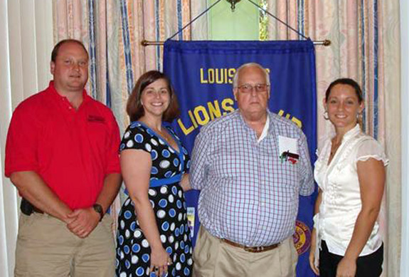 EXTENSiON SERVICE SPEAKS AT LIONS CLUB