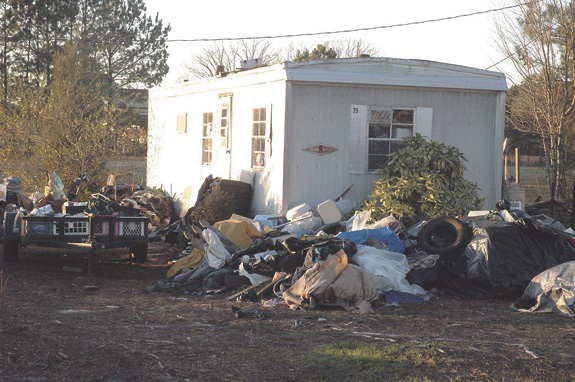 Program to remove abandoned mobile homes continues