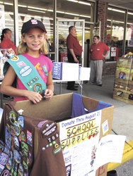 United Way's backpack program was mission of community giving, generosity