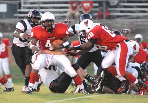 Red Rams Roll To Fourth Victory
