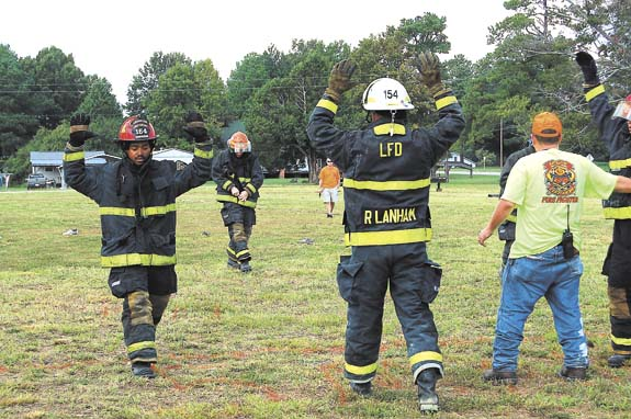 Epsom games test skills of firemen