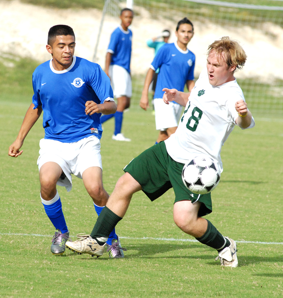 Bunn soccer team suffers first defeat