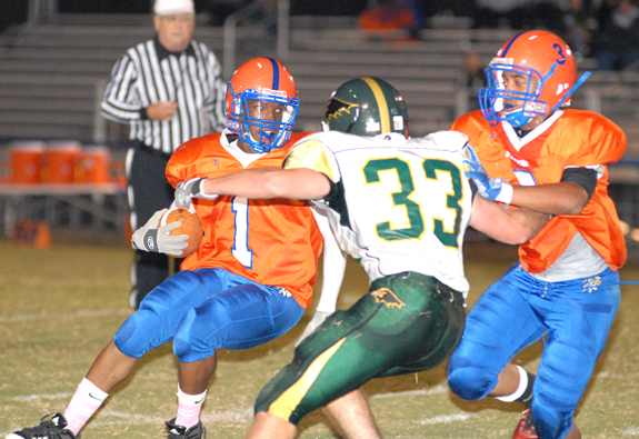 Ravens Run Past Louisburg